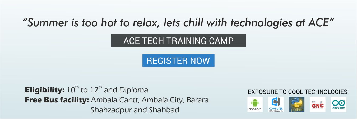 Ace Tech Training Camp