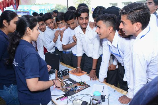 SCIENCE & TECHNOLOGY FAIR - 2018 - Ambala College of Engineering and