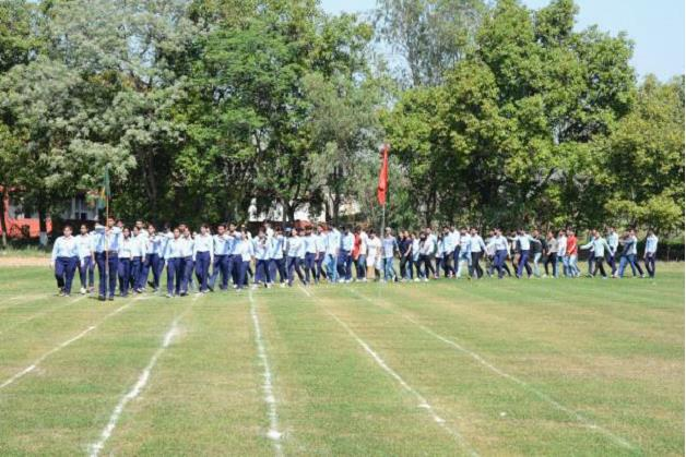 Athletic Meet : March Past